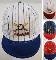 Infant Pinstripe Baseball Hat [ROOKIE]